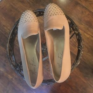MARC FISHER STUDDED LOAFERS